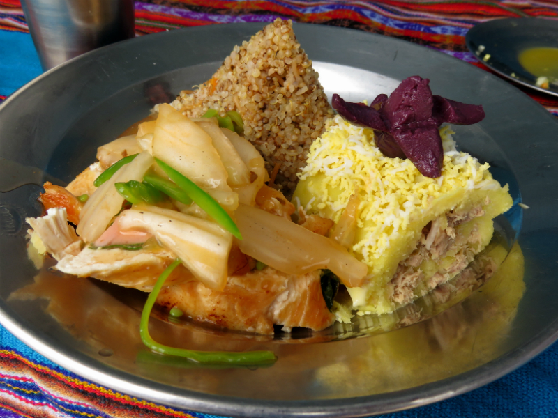 inca gastronomy on the inca trail to machu picchu by andean path trek
