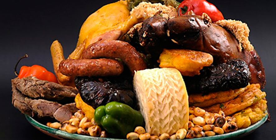 chiriuchu is the most traditional plate of cusco