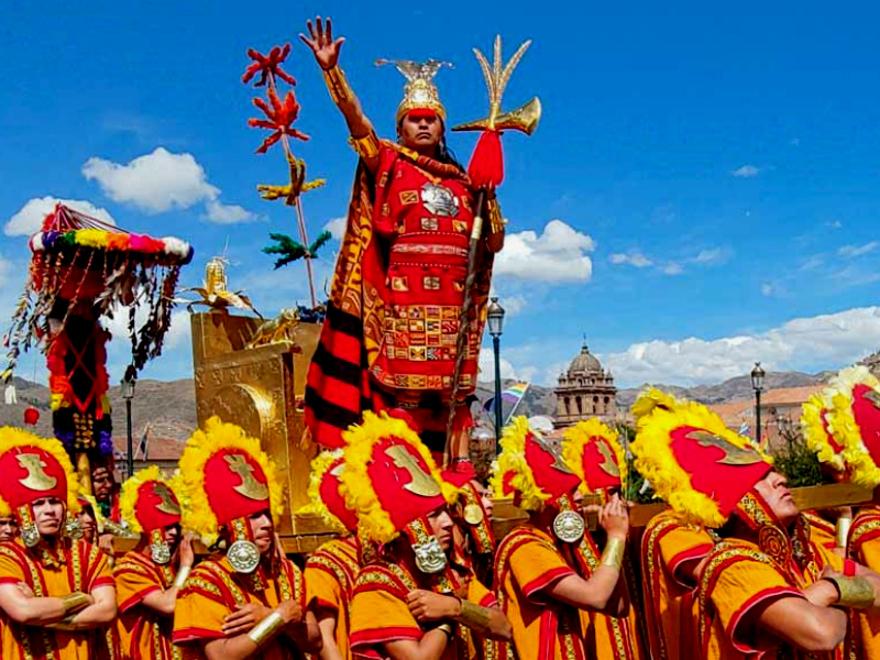 inti raymi or the fest of the sun by andean path trek